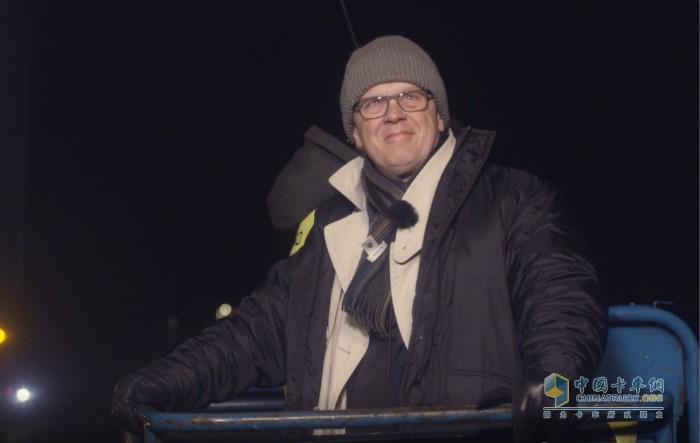 沃尔沃卡车总裁Roger Alm