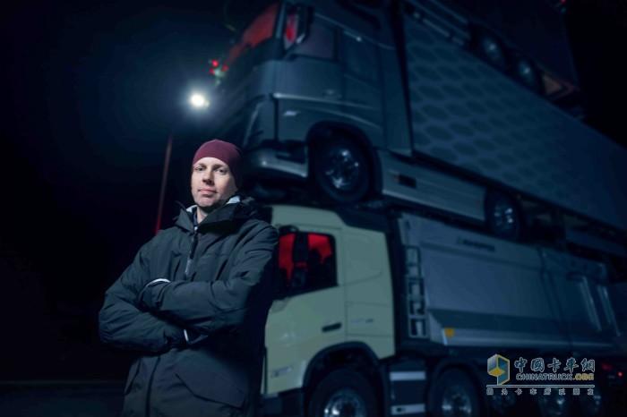 沃尔沃卡车工程师Markus Wikström