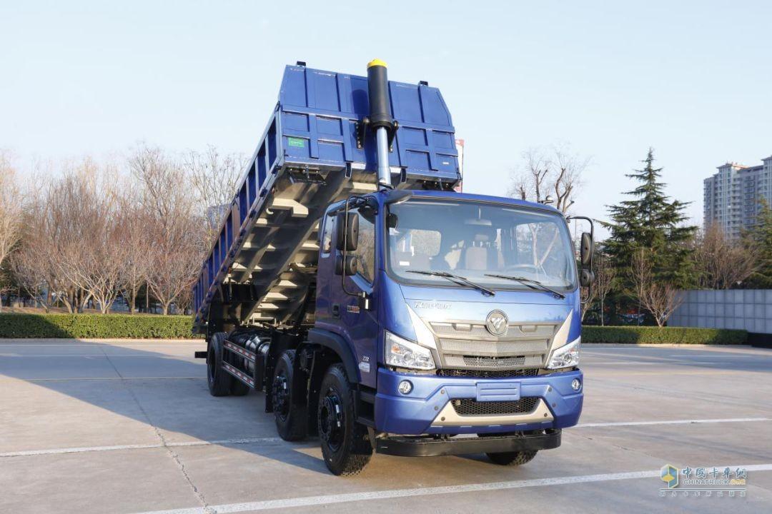 福田瑞沃ES3 6×2三轴工程车