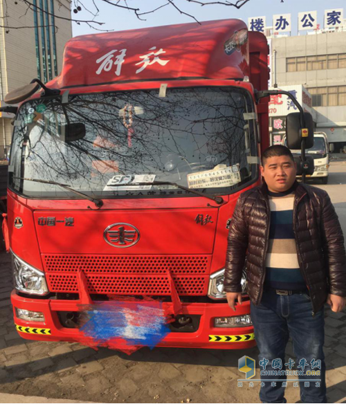用户王飞与他的创富卡车解放J6F