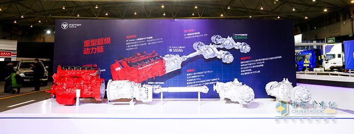 康明斯X系列发动机和采埃孚traxon自动变速箱组成的超级动力链