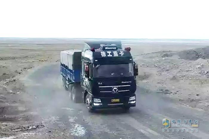 徐工漢風G7牵引车跟随专业用户征战半年只休4天,奔袭7万公里
