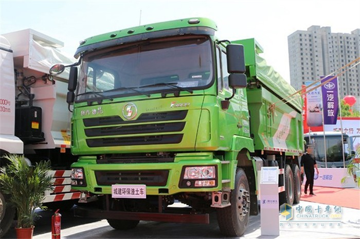 陕汽德龙X3000自卸车