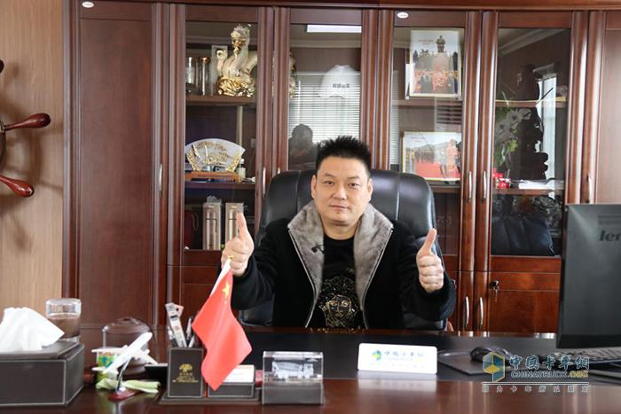 上海程顺物流有限公司总经理程龙伟