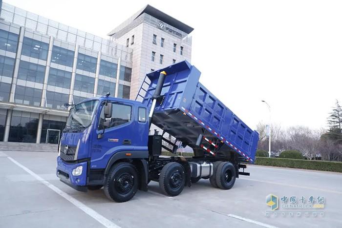 福田瑞沃ES5 6x2三轴工程车