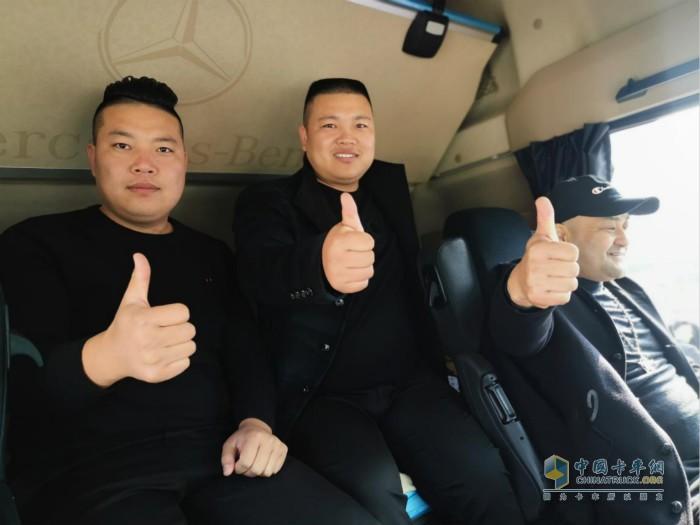 奔驰Actros公路牵引车收获用户认可信赖