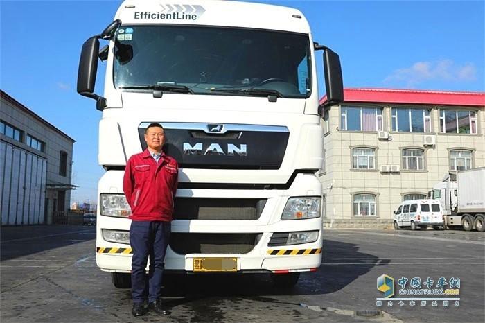 昊锐物流是曼恩卡车的忠实用户