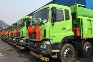 用户广泛认可 匹配大齿HW变速箱的国六燃气自卸车完成交付