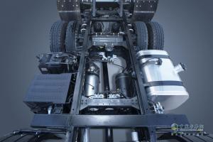 一览福田瑞沃ES5 6x2三轴工程车的风采