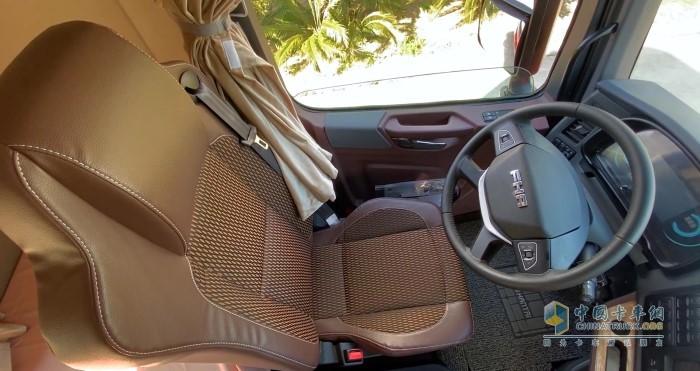 10向调节多功能全皮气囊座椅