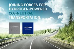沃尔沃集团与戴姆勒卡车公司成立合资公司 大规模生产燃料电池