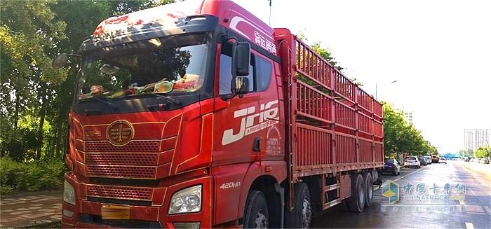 解放青汽JH6载货定义车