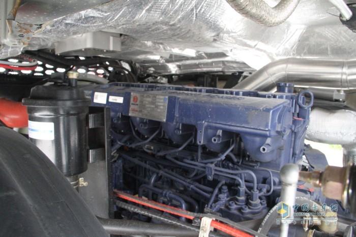 沪尊S200搭载潍柴发动机