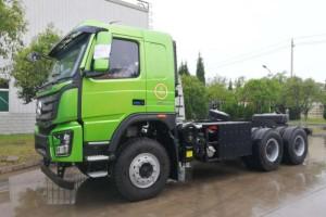环保节能  大运首台混合动力自卸车试制完成