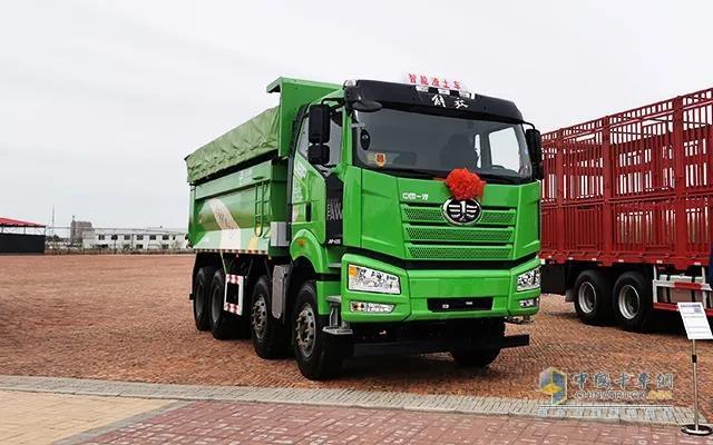 解放2020款新J6P短轴距渣土车