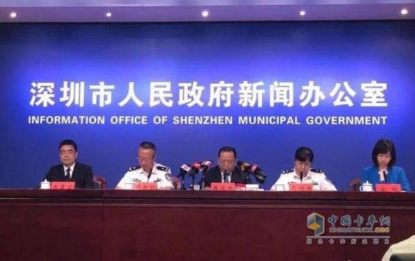 深圳市公安局:暂不恢复针对外地车、货车等限行措施