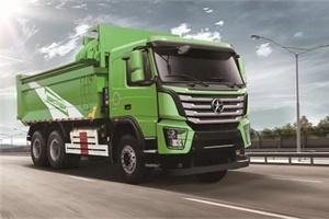 大运N8V绿色智能渣土车,爆款网红车你值得拥有!