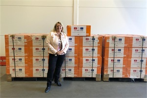 """东风商用车捐赠45600只口罩,为沃尔沃带去""""可靠""""安全防护墙"""