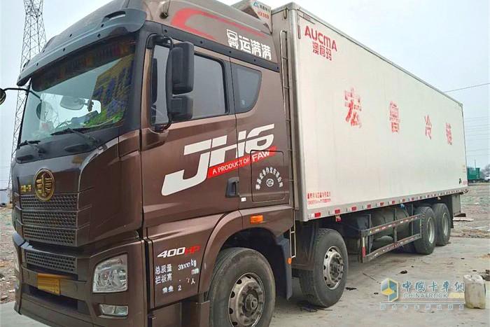 一汽解放青汽JH6载货定义车