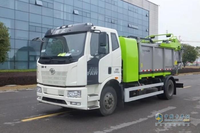 产品服务双领先 解放携手中联环境以新能源环卫车建设榆林