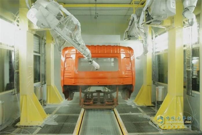车身厂涂装车间