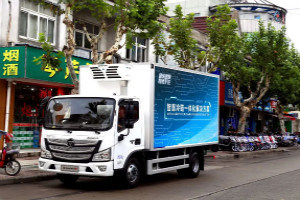 保障舌尖上的安全 欧马可冷链之星消毒冷藏车为食材新鲜安全运输护航