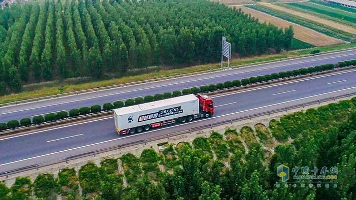超越极限·东风天龙KL横贯中国3500公里不加油挑战开启