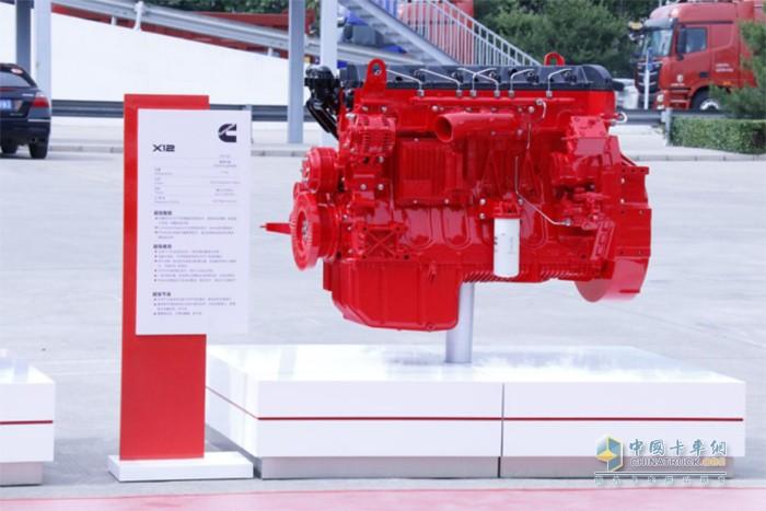 欧曼GTL 460马力牵引车搭载康明斯X12动力