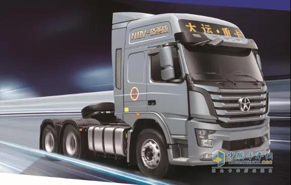 大运N8V质蕙版2.0 6X4牵引车