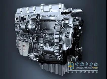 采用的是465马力的东风dci 11L发动机