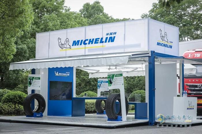 米其林为新车型搭配了四款小直径大承载轮胎