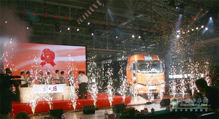 解放第六代产品J6下线,解放开始向世界级品牌迈进