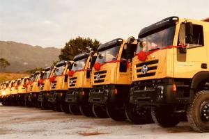 30辆上汽红岩自卸车再赴刚果(金)助力非洲矿石运输