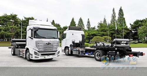 现代汽车XCIENT 氢燃料电池重卡