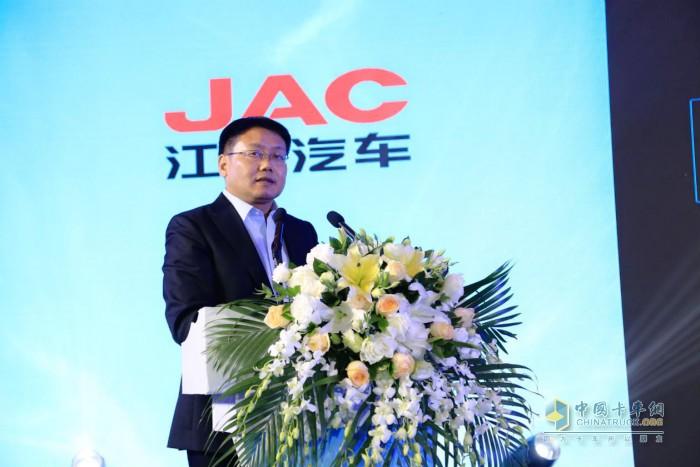 江淮汽车轻型商用车营销公司党委书记 总经理 张先华先生