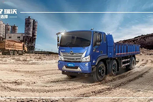 福田瑞沃ES3三轴工程车一台终结卡车人吐槽大会的车!