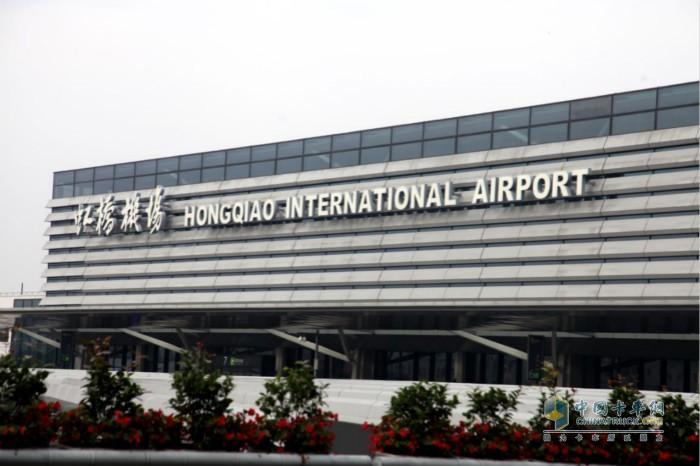 格调与情调并存的上海,图为上海虹桥机场