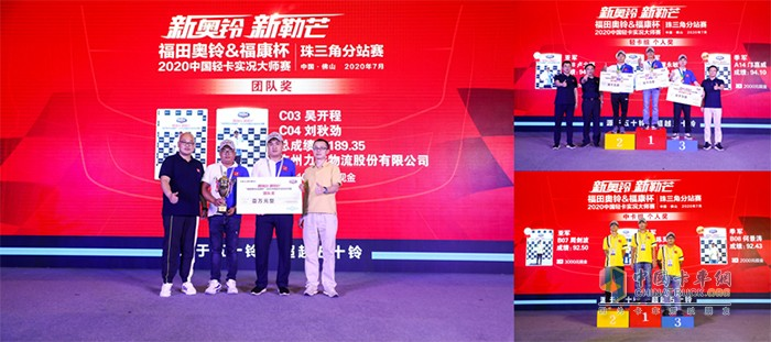 2020中国轻卡实况大师赛珠三角分站赛冠军时刻
