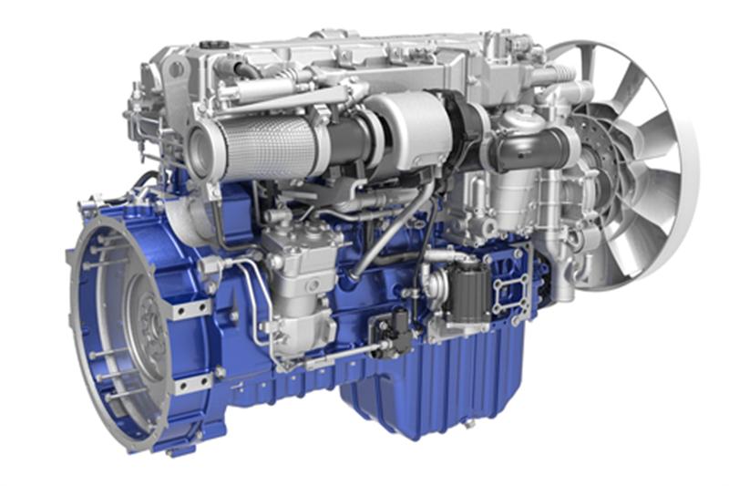 潍柴中重型专用车动力WP8发动机