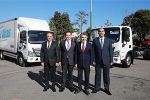 193台欧VI排放标准AUMARK S交付土耳其!