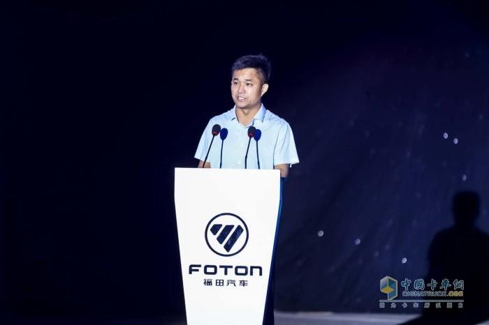 欧航欧马可事业部常务副总裁、营销公司总经理唐宏超