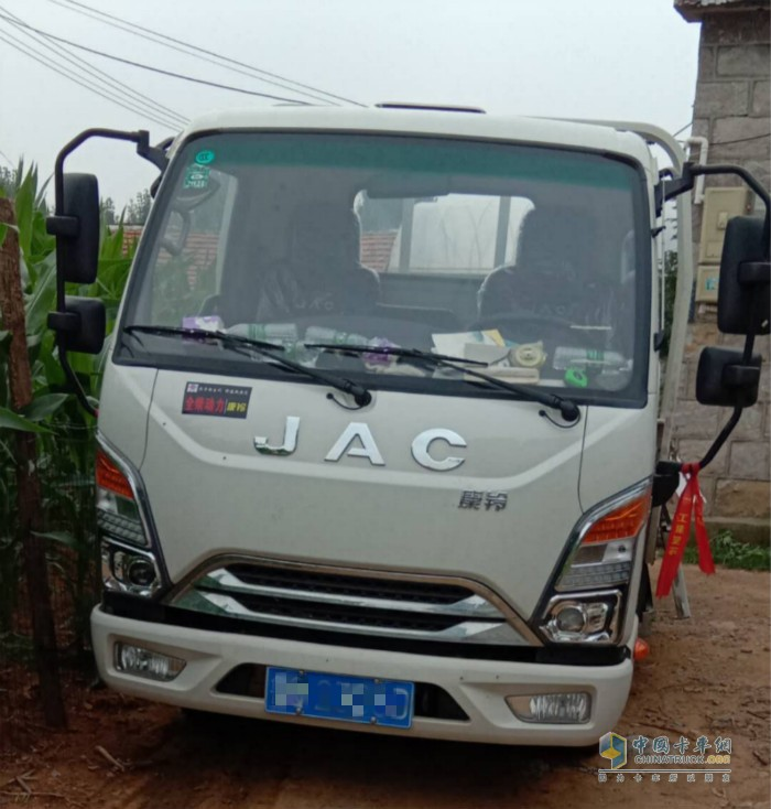 康铃J3创富版减少了夏师傅的用车成本
