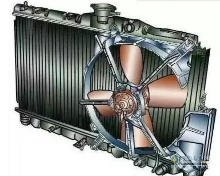 发动机散热器