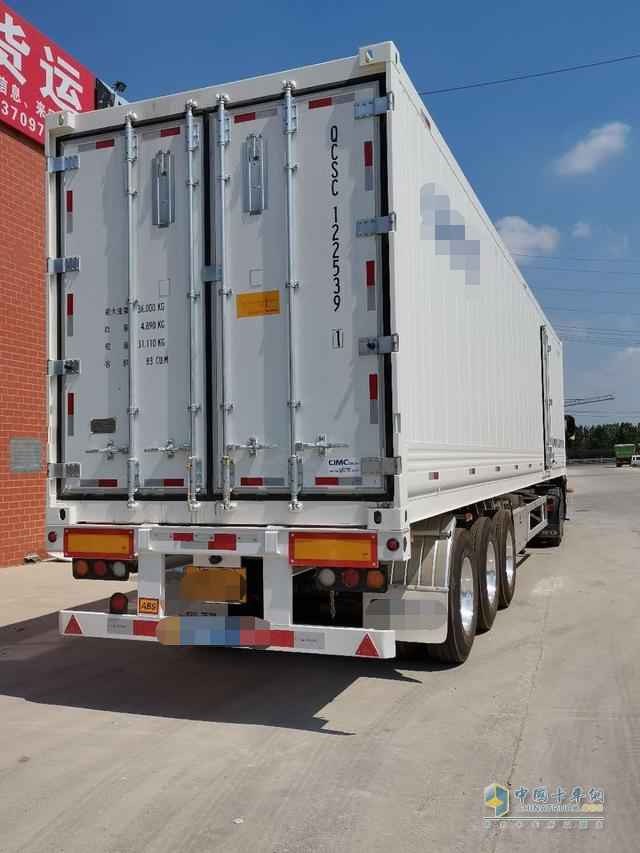 货箱容积大