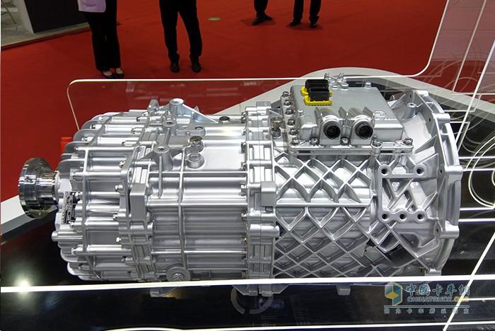 法士特F16JZ22集成式AMT变速箱