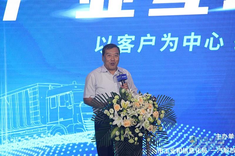 青岛市黄岛区人民政府党组成员王本剑先生致辞