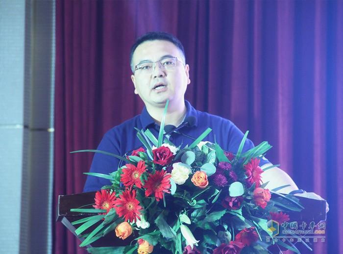 福田汽车集团时代事业部时代营销公司市场与商品规划副总经理牟旭先生