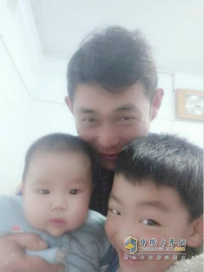 殷祥宁与孩子的幸福时光