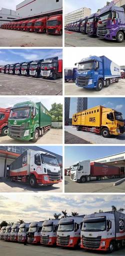 圆通、申通、中通、京东、百世、天天快递等国内知名快递物流企业都在使用乘龙快递车