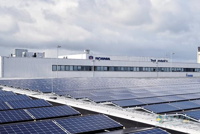 斯堪尼亚全球10个主要生产基地将全部采用无化石电力供电